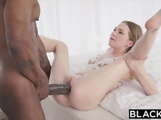 blowjob big dick BLACKED Petite blonde with the biggest bbc in the world