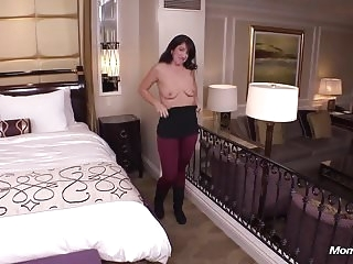 top rated anal Innocent Brunette MILF a Cheating Fantasy Creampie