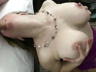 cumshot blowjob Wife takes huge cock deep in her mouth and gets a lot of cum