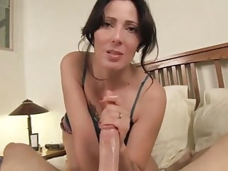 cumshot blowjob With Aunt at Hotel