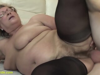 hairy 78 years old bbw granny in sexy stoxkings enjoys a rough fucking lesson hairy 78 years old bbw granny in sexy stoxkings enjoys a rough fucking lesson
